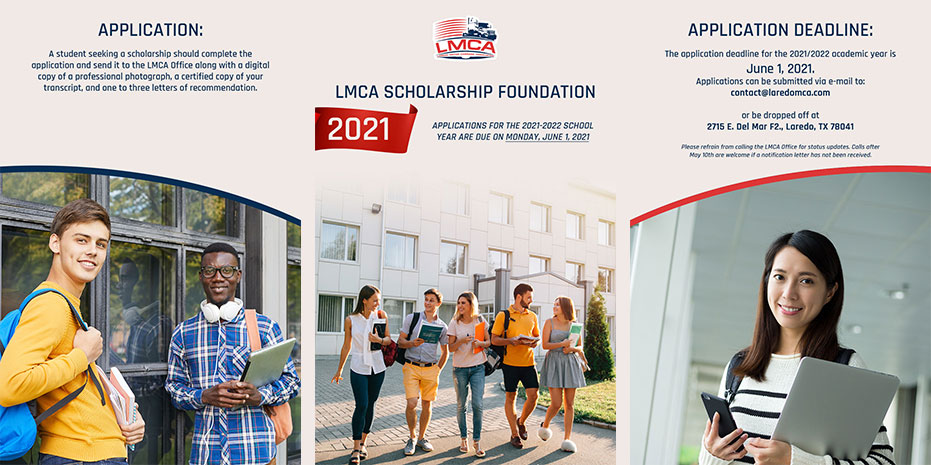 LMCA Scholarship Foundation Applications Due June 1st