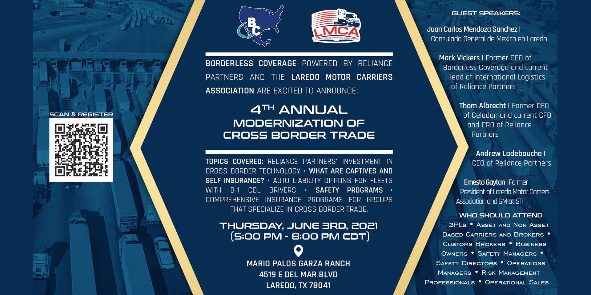 Modernization of Cross Border Trade (invitation)