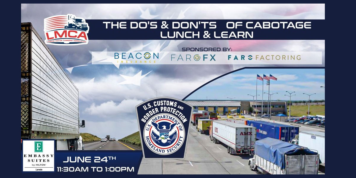 CBP Presents The Do's & Dont's of Cabotage