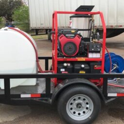 Wash Bay and Trailer Pressure Washers (Hot and Cold Water) for the Trucking Industry