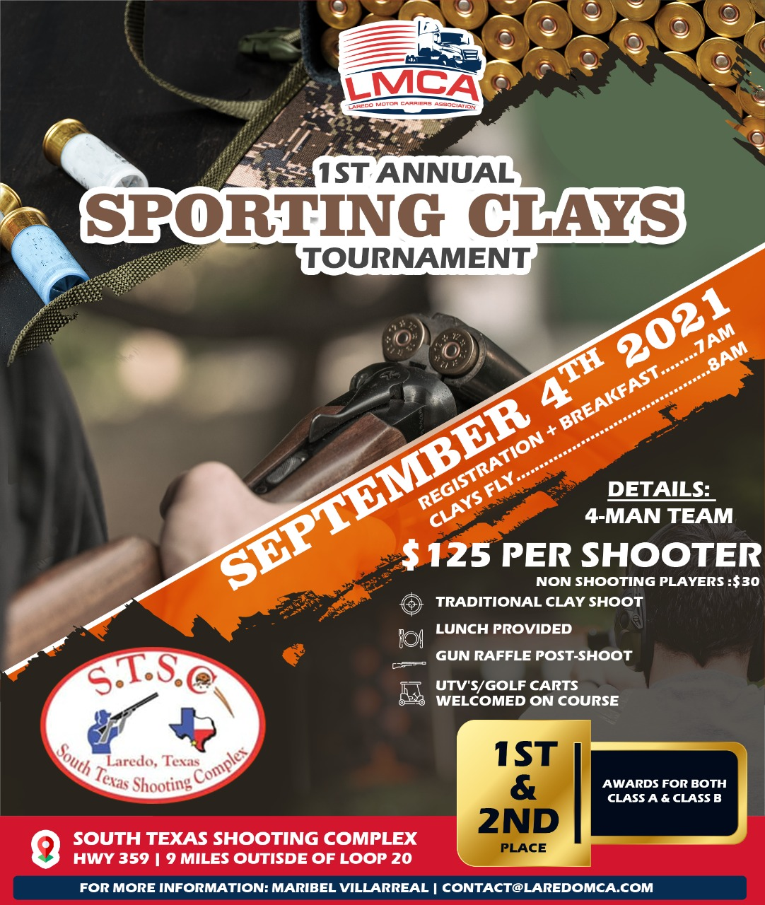 LMCA's 1st Annual Sporting Clays Tournament
